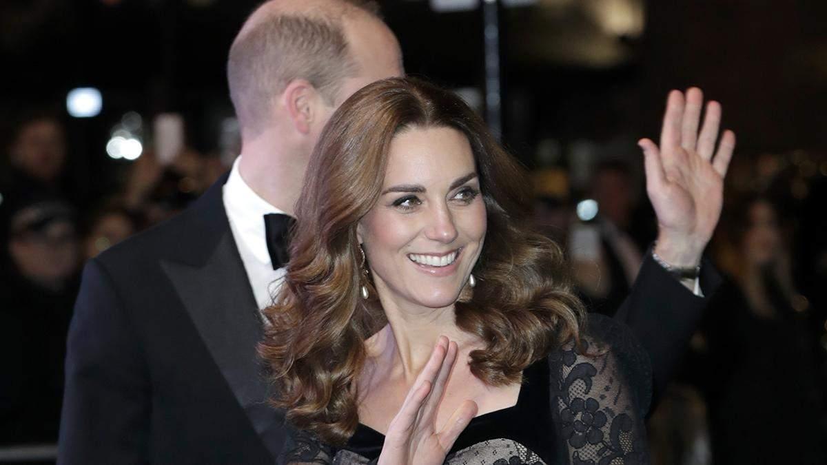 Кейт Міддлтон здійснила вихід у розкішній брендовій сукні: фото