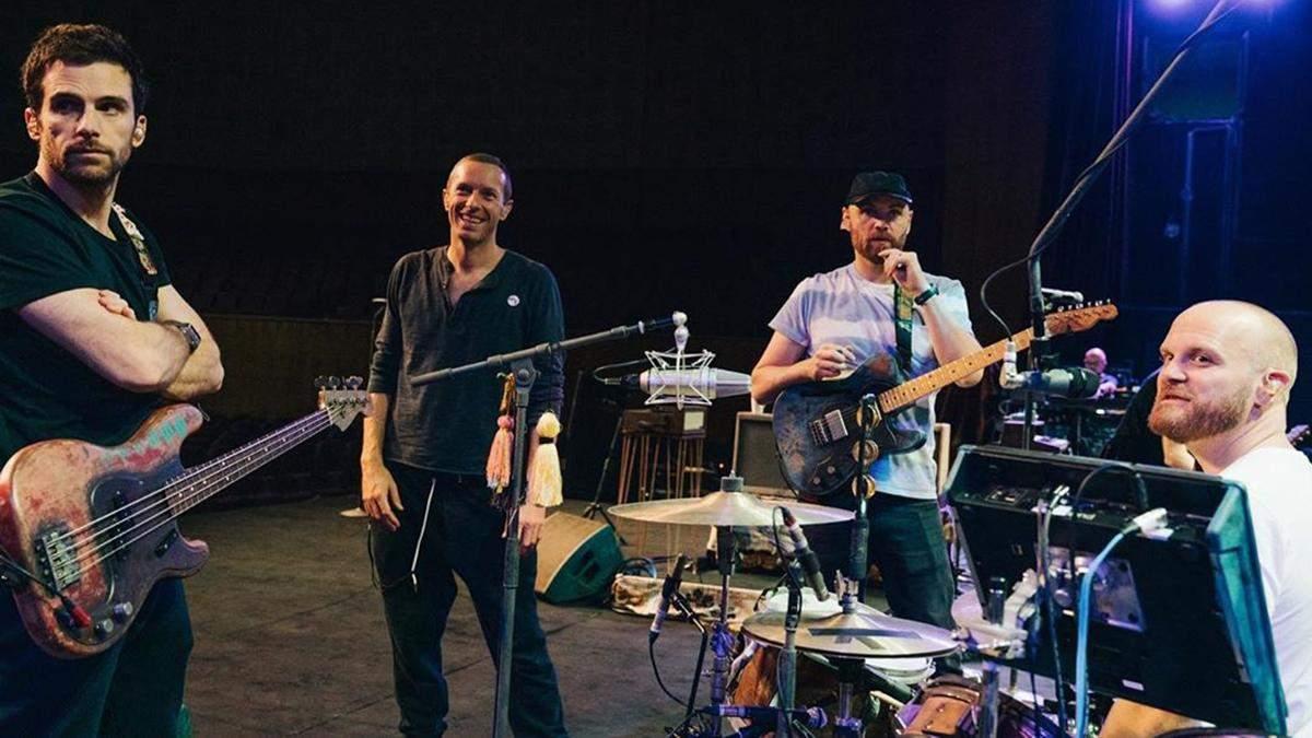 Група Coldplay не проводитиме гастрольний тур в підтримку нового альбому: несподівана причина