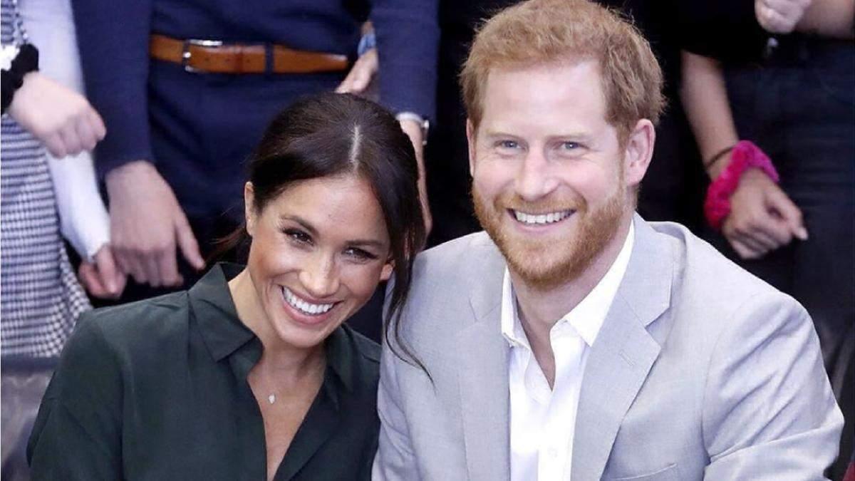 Меган Маркл і принц Гаррі оголосили про вихід з королівської сім'ї
