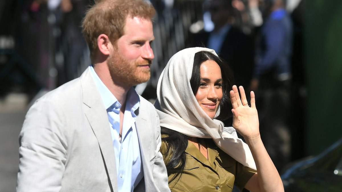 Королівська сім'я лютує через демарш Меган і Гаррі