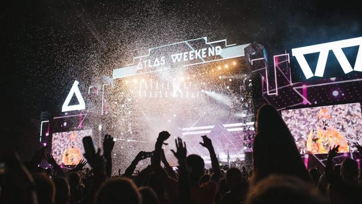 Головна сцена фестивалю Atlas Weekend