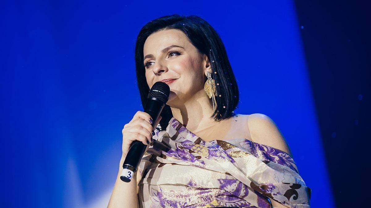 """Оксана Муха дала різдвяний концерт у Львові – """"Тиха ніч"""""""
