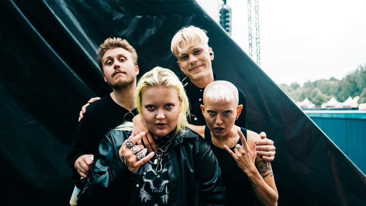ALMA зі своїми музикантами