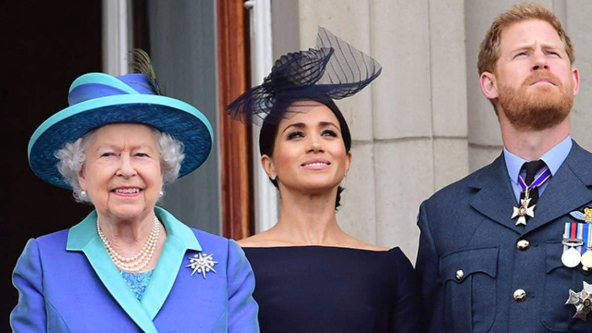 Єлизавета II оприлюднила остаточне рішення щодо Меган Маркл та принца Гаррі