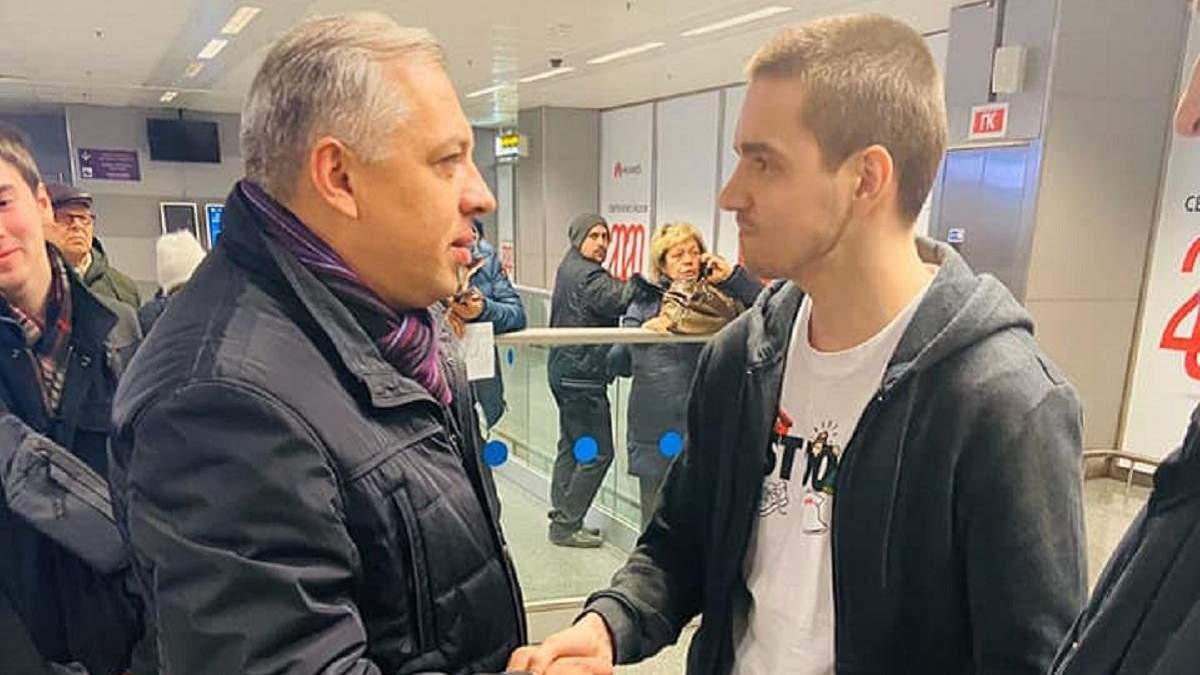 Осужденный в Малайзии к смертной казни Роман Золотарев вернулся в Украину