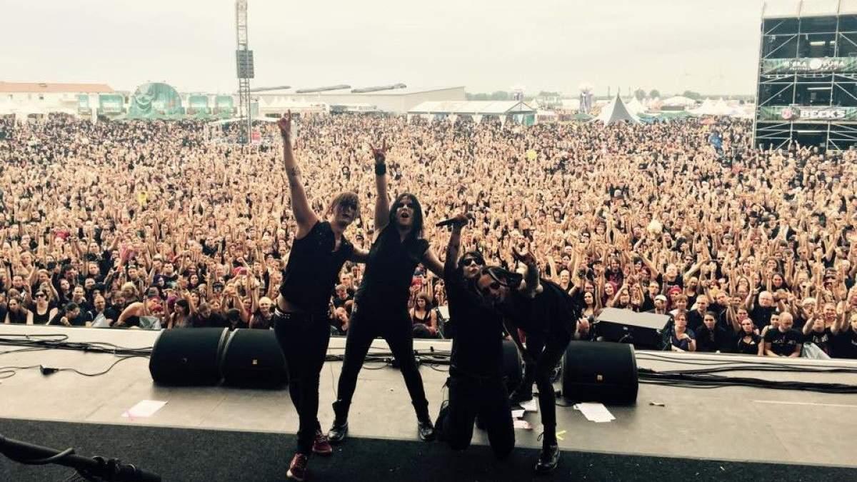 В Україні вперше виступить шведська метал-група Deathstars
