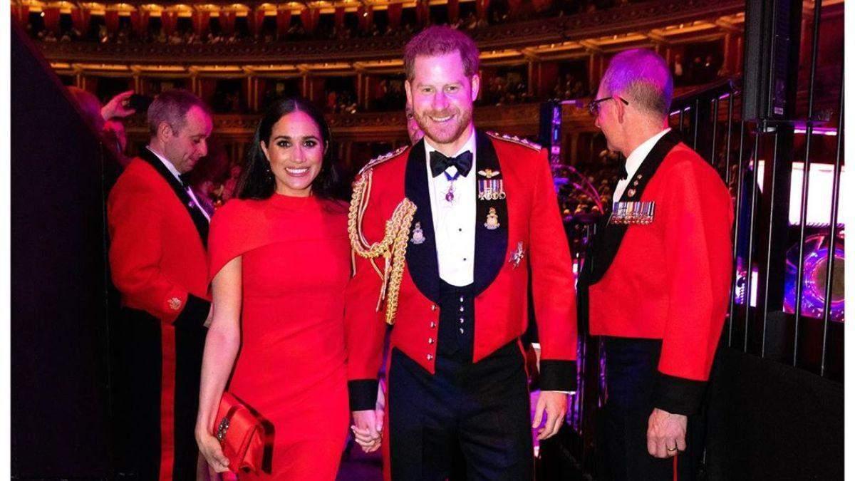 Меган Маркл та принц Гаррі влаштували святковий обід для своїх помічників