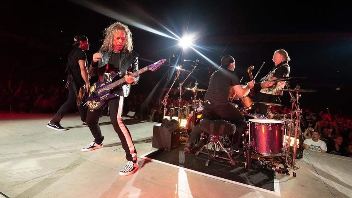 Группа Metallica каждый понедельник будет представлять новую запись с концерта: видео