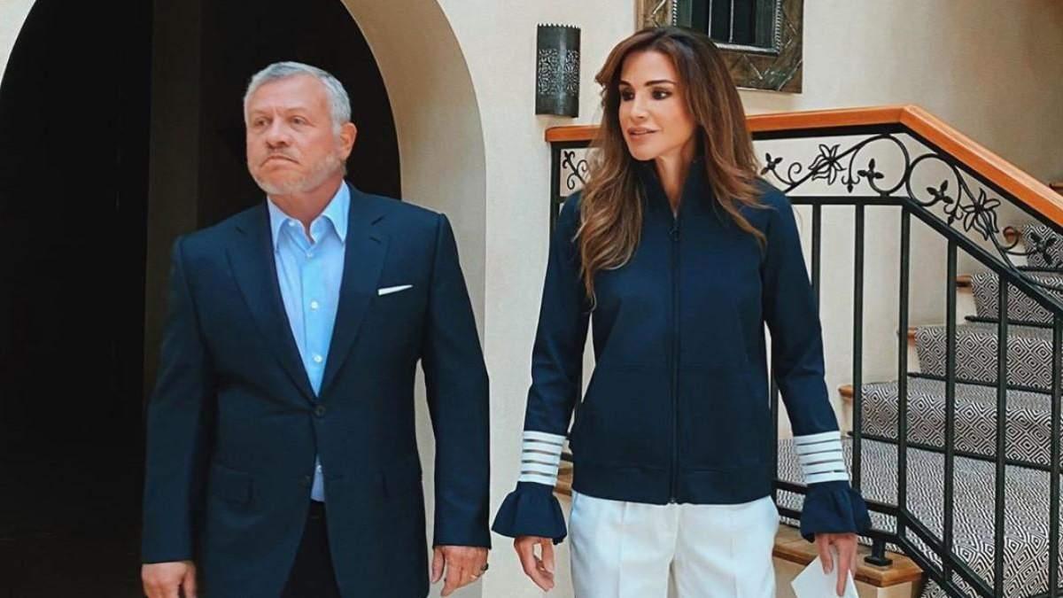 Королева Йорданії показала, як виглядає в буденному житті