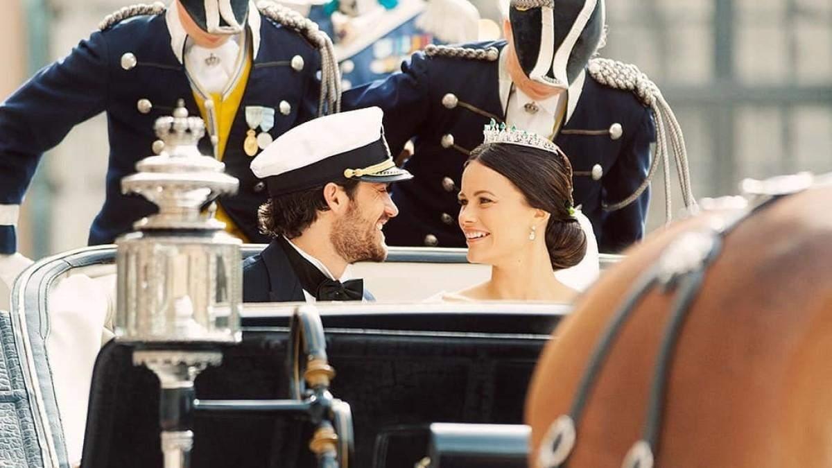 Принц Швеції показав фото зі свого весілля, яких ще не було в мережі