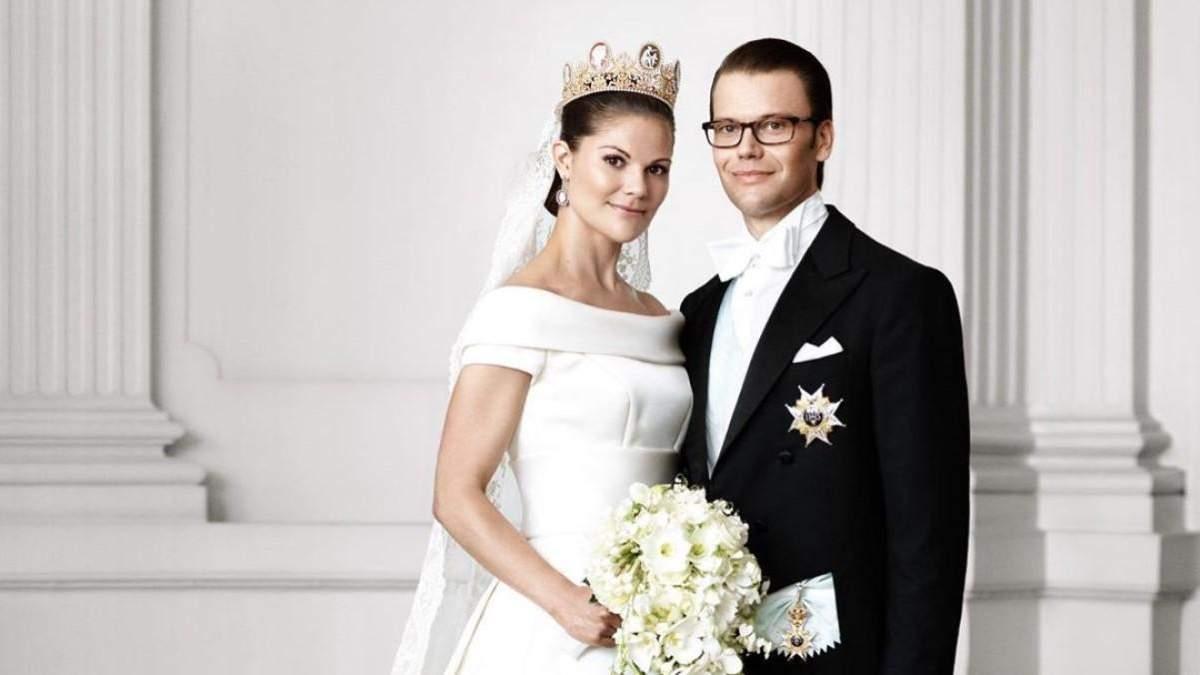Принцесса Швеции показала новые фото со своей роскошной свадьбы