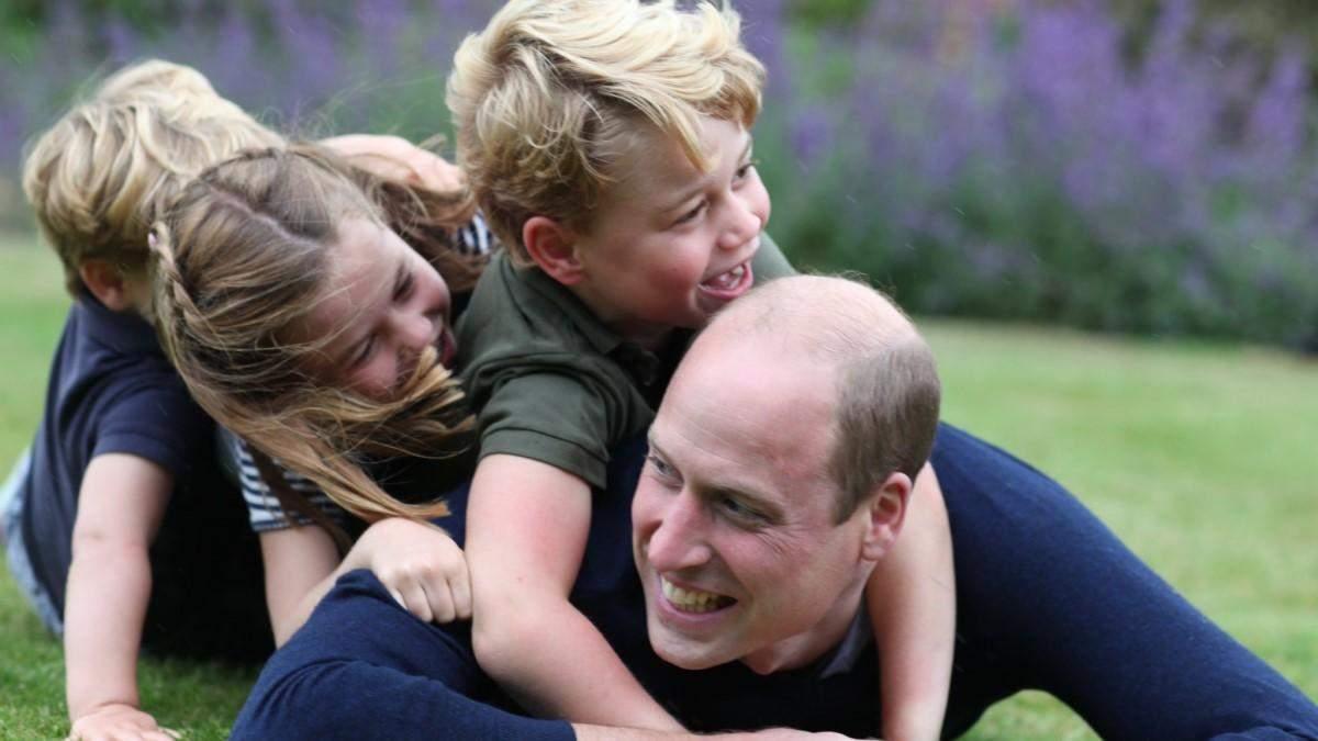 Принц Вільям та Кейт Міддлтон опублікували нові фото свого сина Джорджа