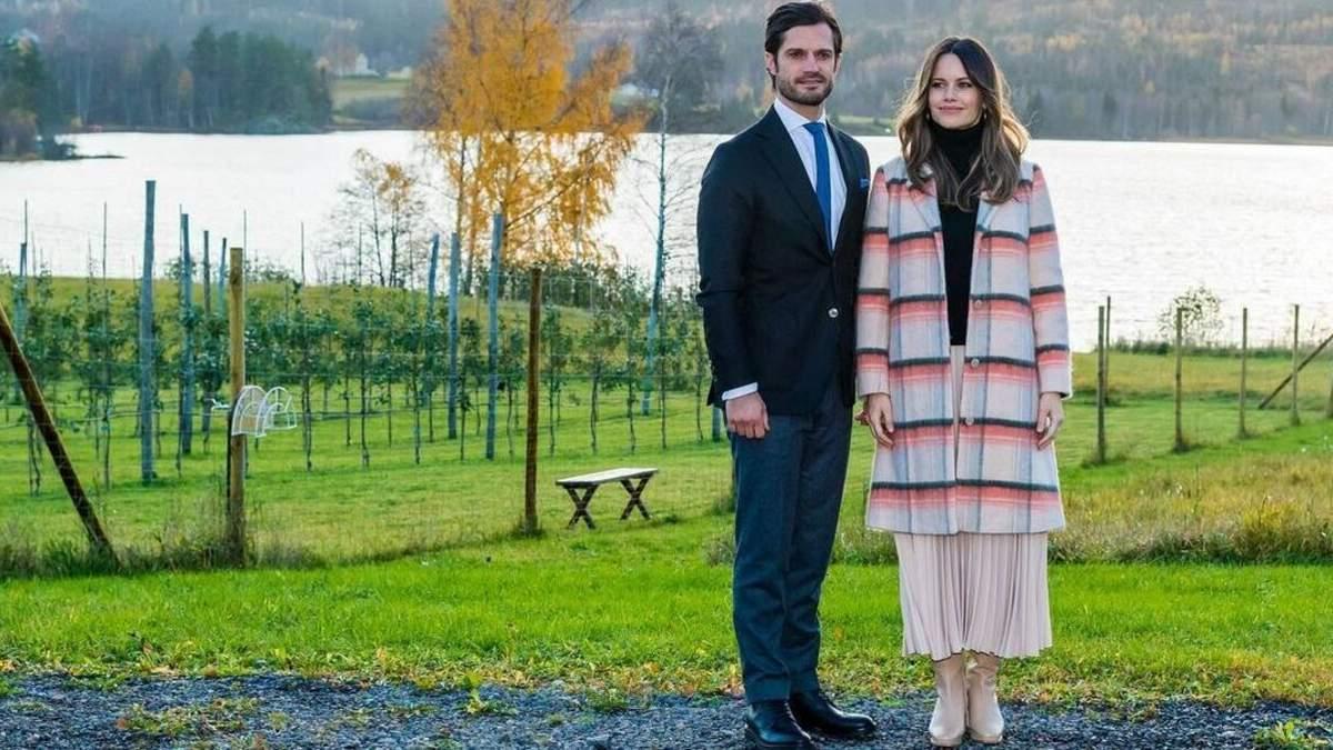 Принц Швеции Карл Филипп и принцесса София объявили, что ожидают третьего ребенка