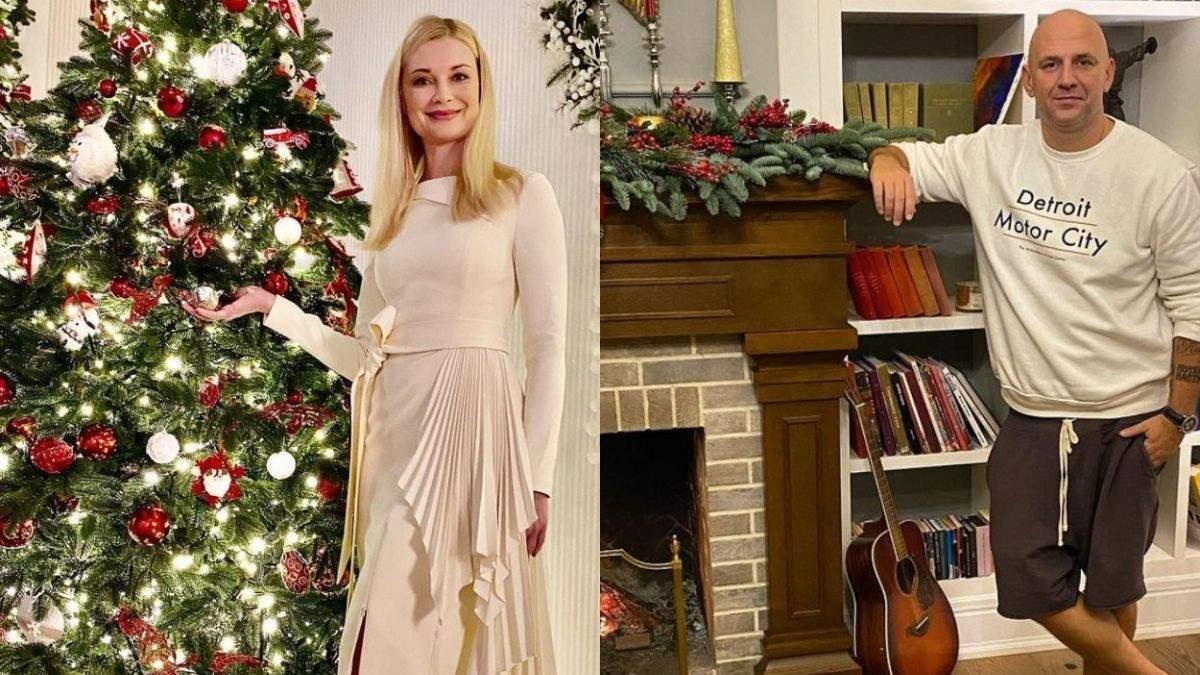 Як українські зірки прикрасили будинки до Різдва