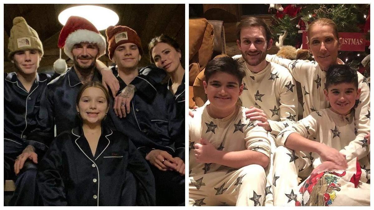 Як знаменитості святкують Різдво 2020: сімейні фото