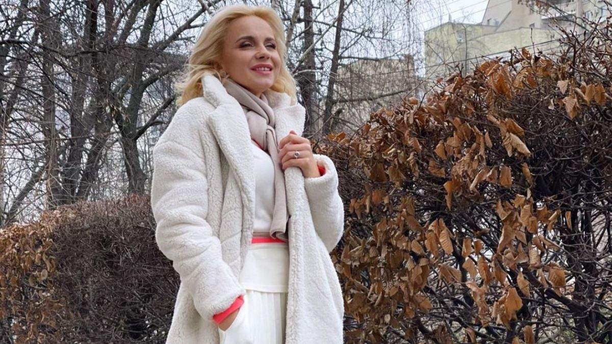 Лилия Ребрик поделилась архивными новогодними фото