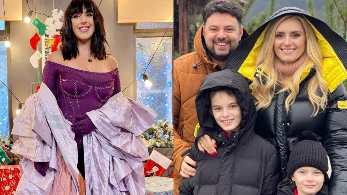 Як українські знаменитості вітають з Різдвом: фото