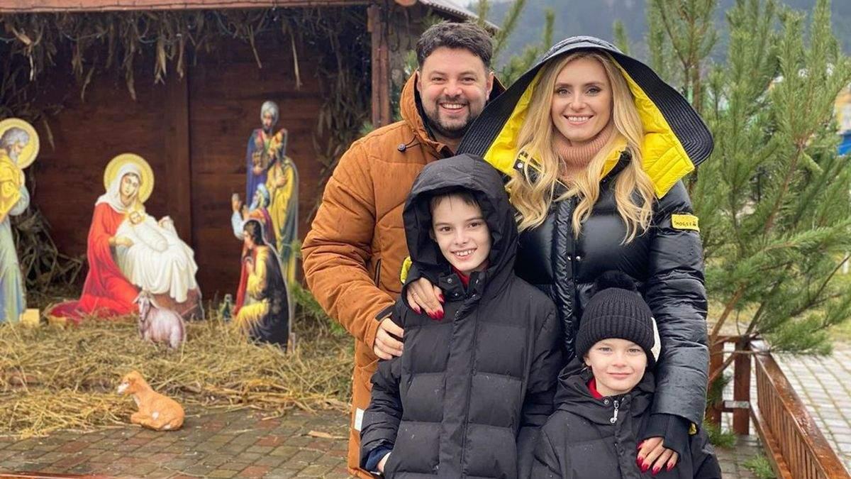 Ірина Федишин влаштувала сімейну прогулянку Львовом: відео