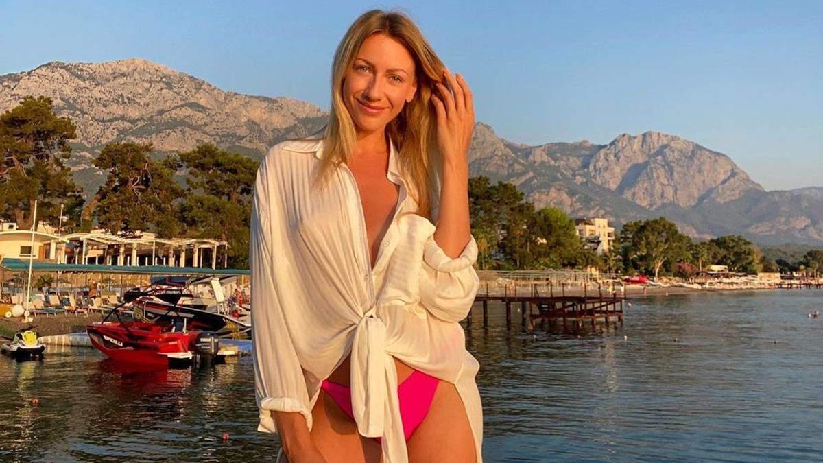 Леся Нікітюк засвітила груди в бюстгальтері за 6 тисяч гривень: фото