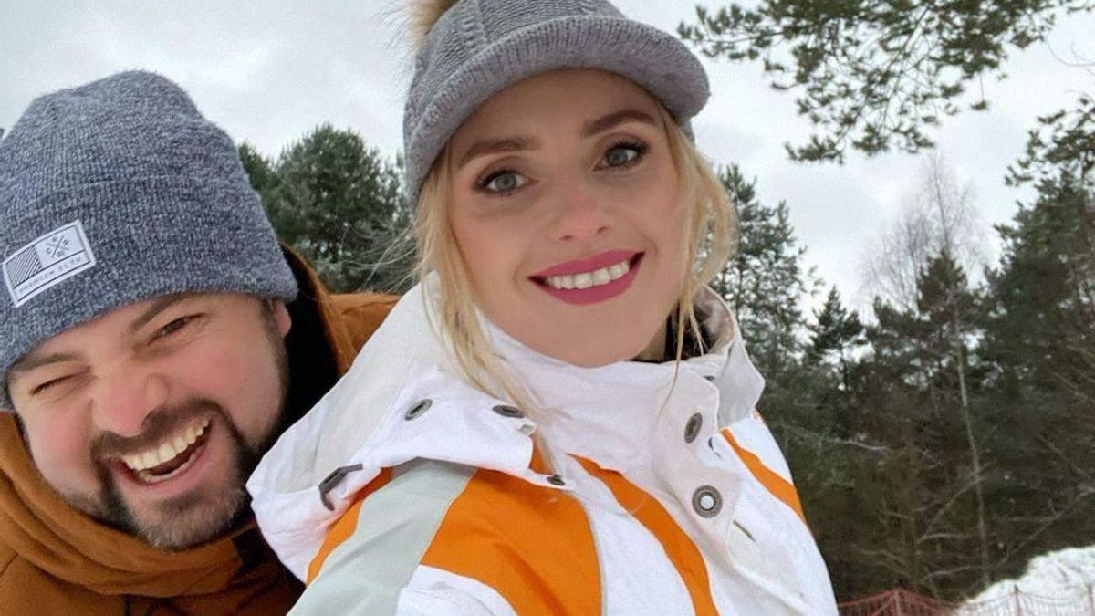Ірина Федишин привітала зі святом та показала зимові сімейні розваги