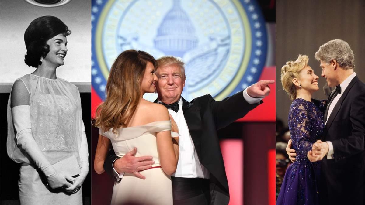 Інавгурація президентів США: найвизначніші сукні перших леді
