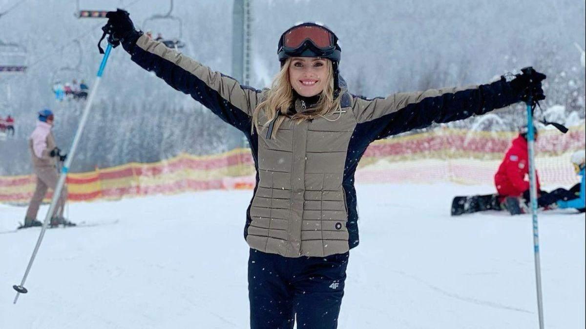 Ирина Федишин показала, как проводит зимние каникулы: фото