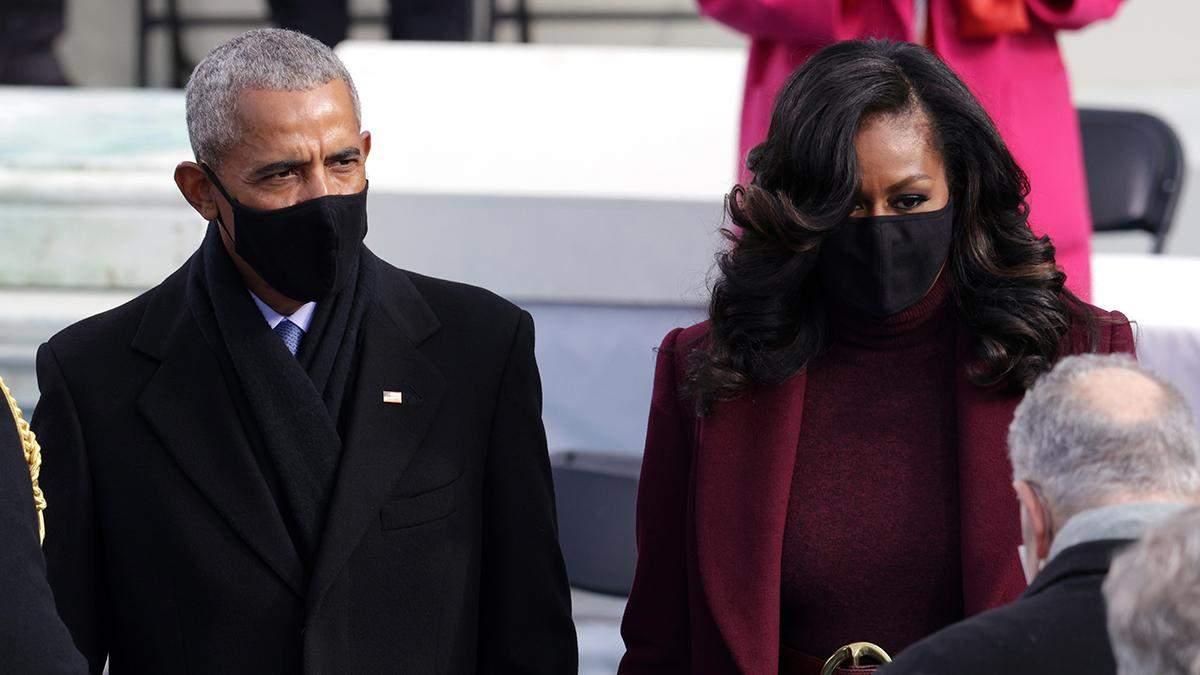 Мишель Обама поразила образом на инаугурации Байдена: фото роскошного выхода
