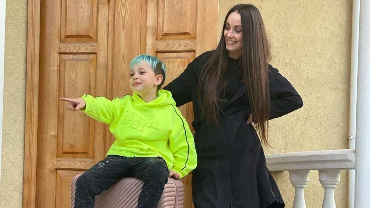 Ксения Мишина рассказала о реакции сына на переезд Эллерта