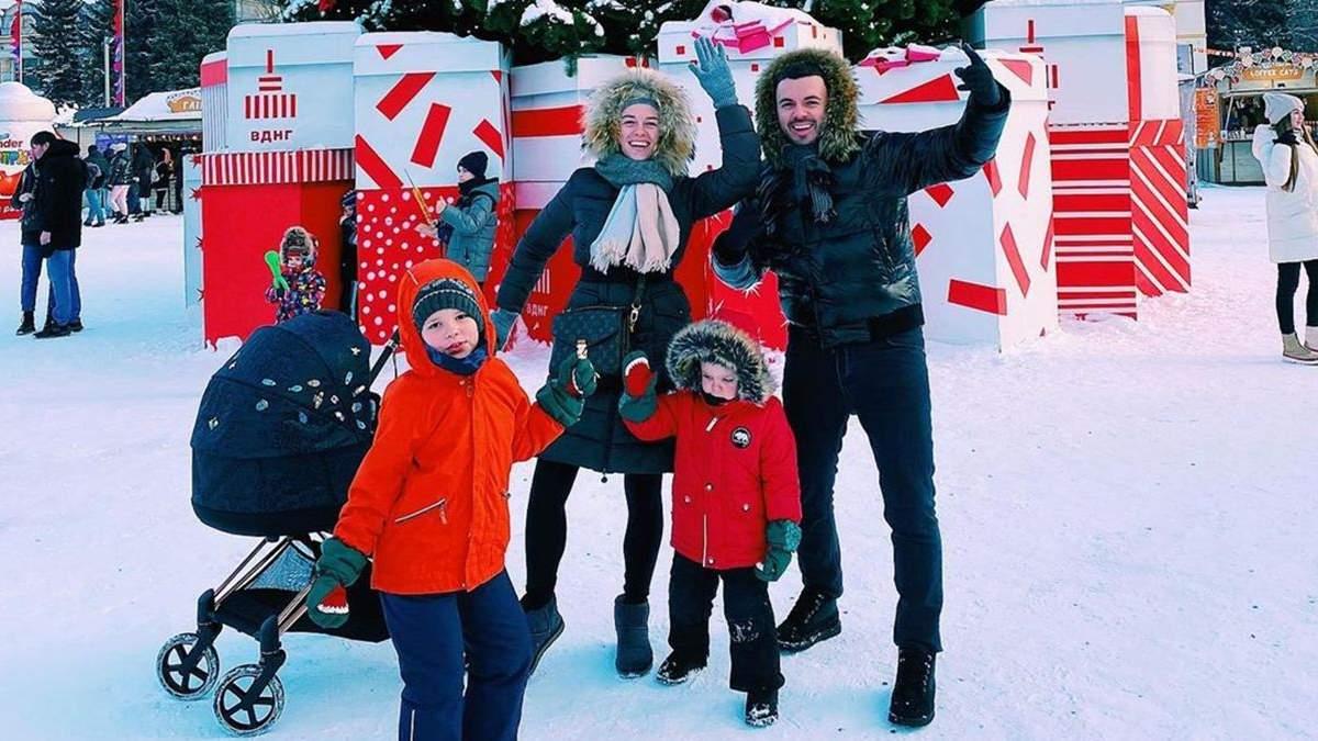 Григорій Решетник провів вихідні з сім'єю: фото з дружиною і синами