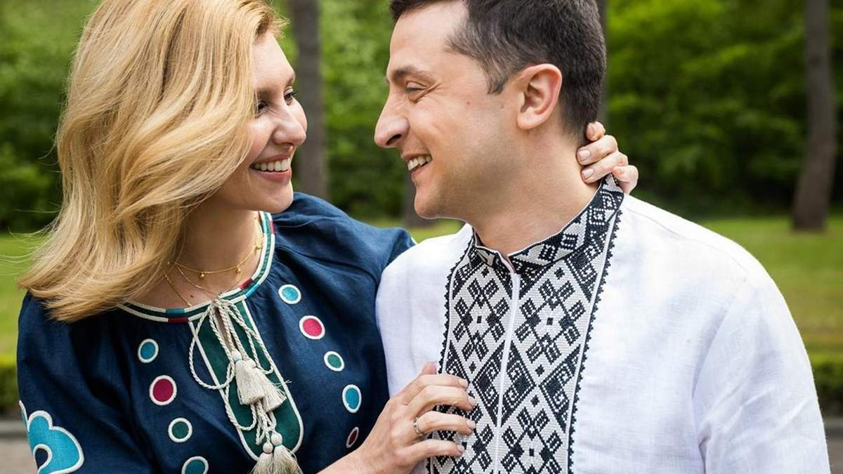 Елене Зеленской - 43: президент поздравил жену авторским стихом