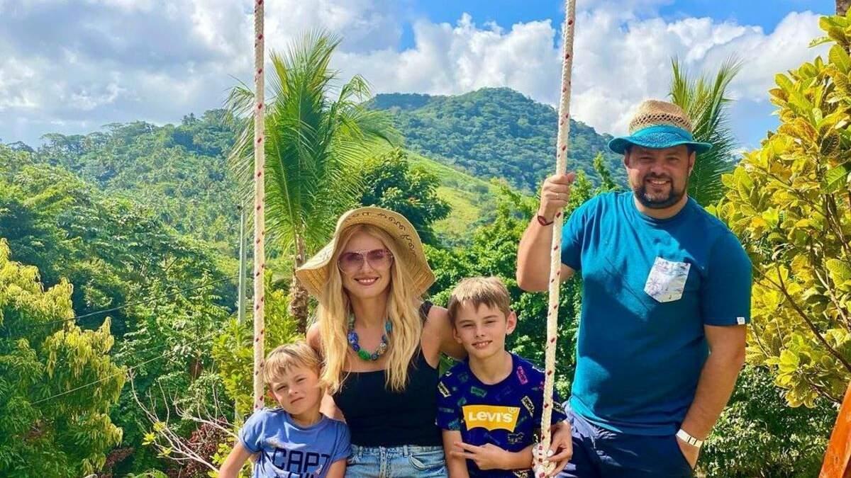 Ирина Федишин показала утро в Доминиканских горах: семейные снимки