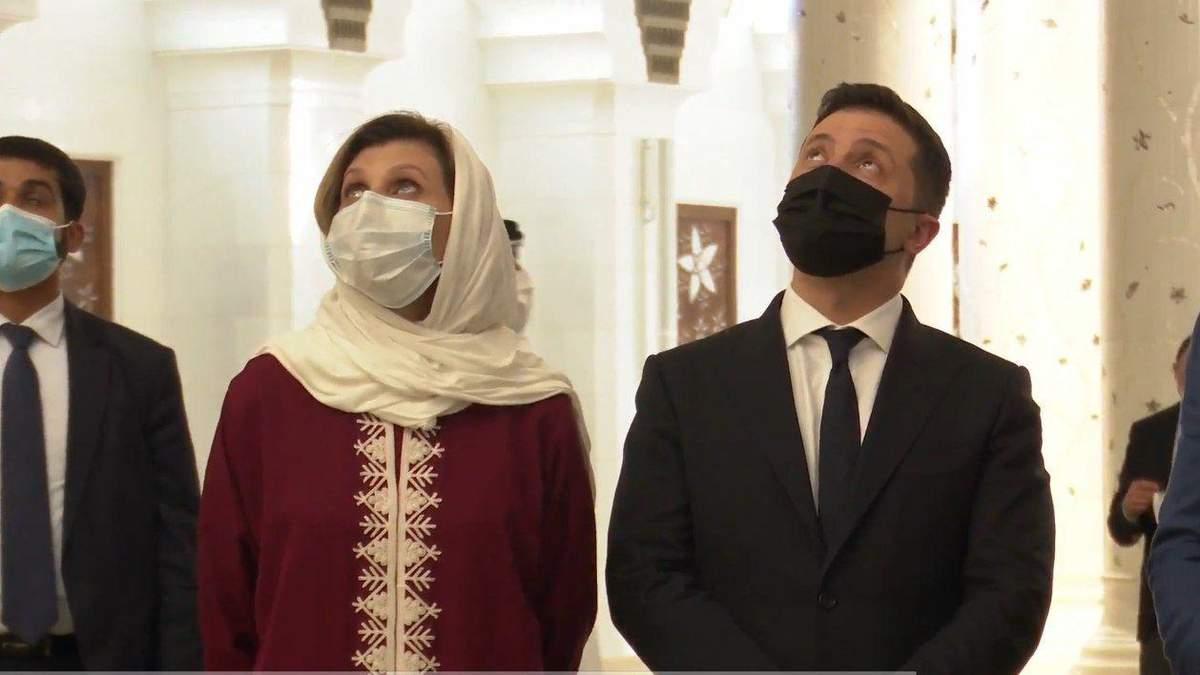 Олена Зеленська вразила образом у традиційній арабській сукні: відео