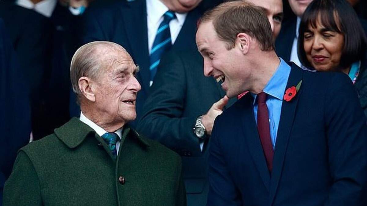 Принц Уильям высказался как чувствует себя принц Филипп