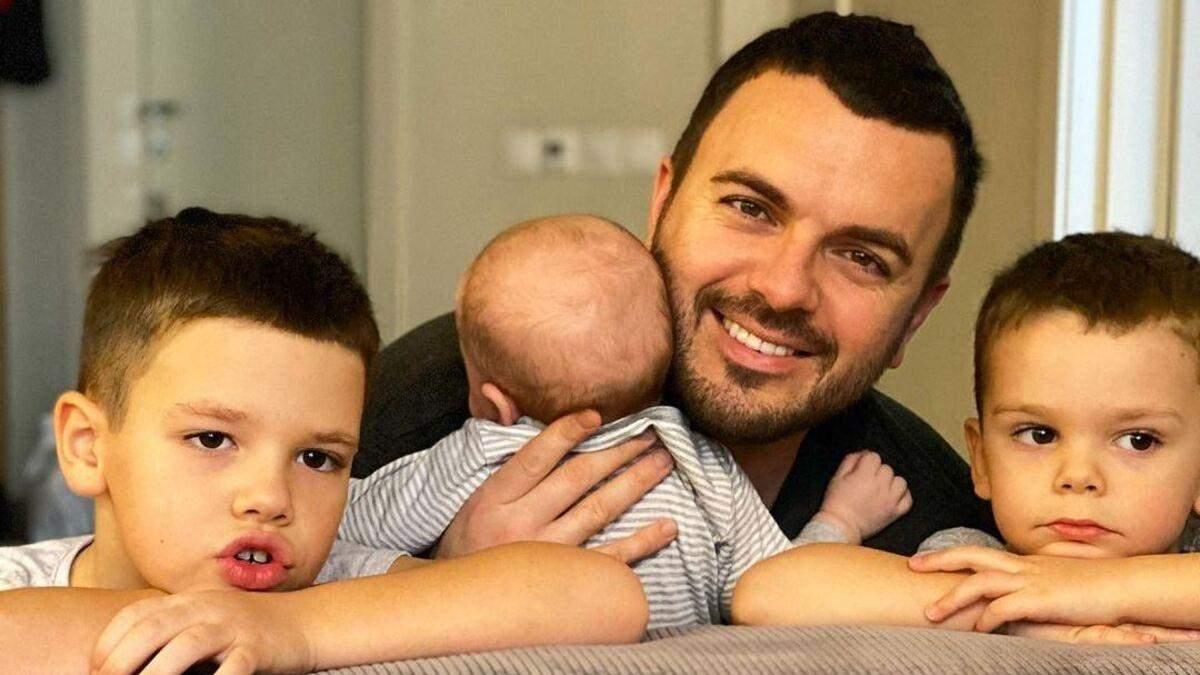 Григорий Решетник впервые показал лицо сына: чувственное фото