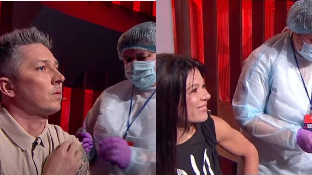 Руслана и Педан рассказали, как чувствуют себя после вакцинации
