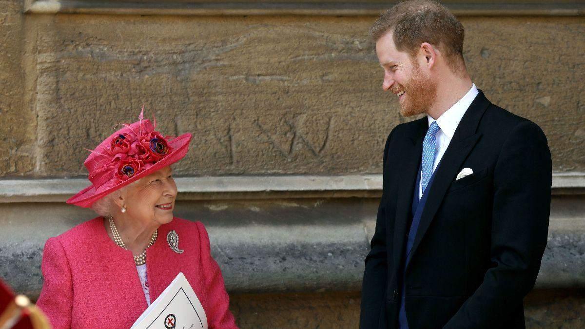 Королева Єлизавета II зателефонує принцу Гаррі