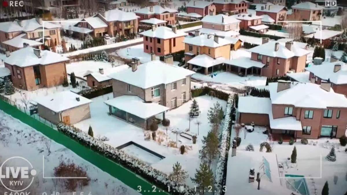 Элитный дом Насти Каменских и Потапа под Киевом: видео