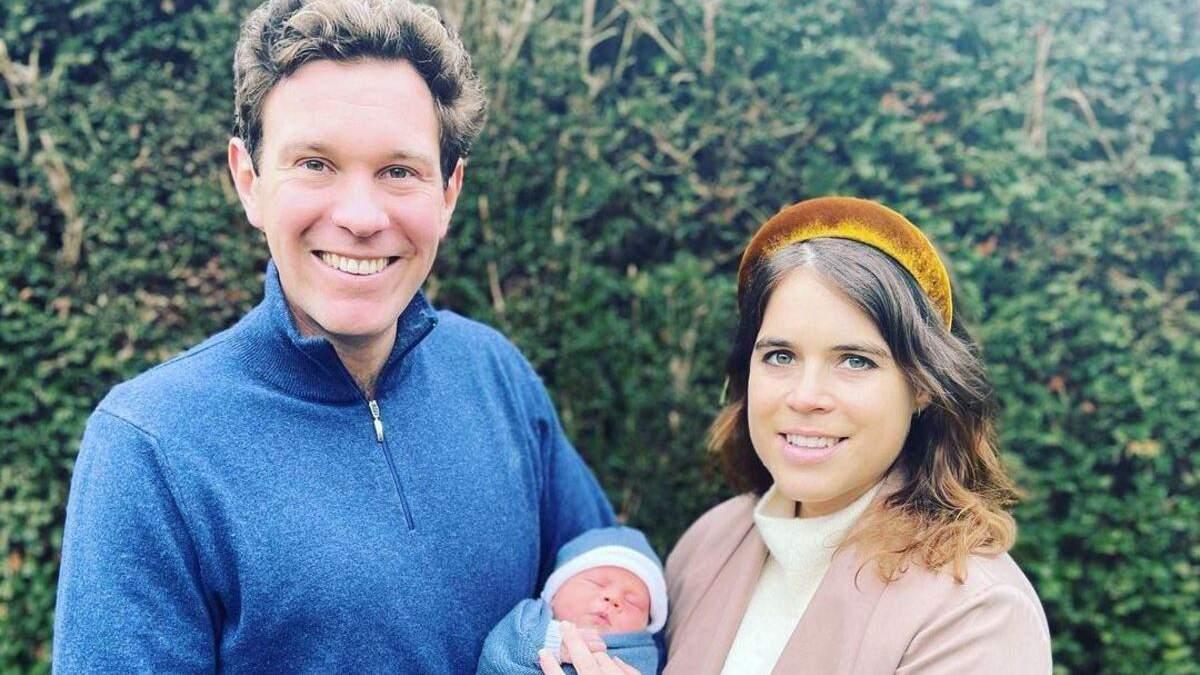 Принцеса Євгенія поділилась зворушливим фото новонародженого сина