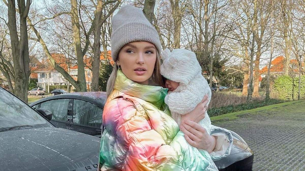 Роме Стрейд впервые показала лицо дочери: фото и видео