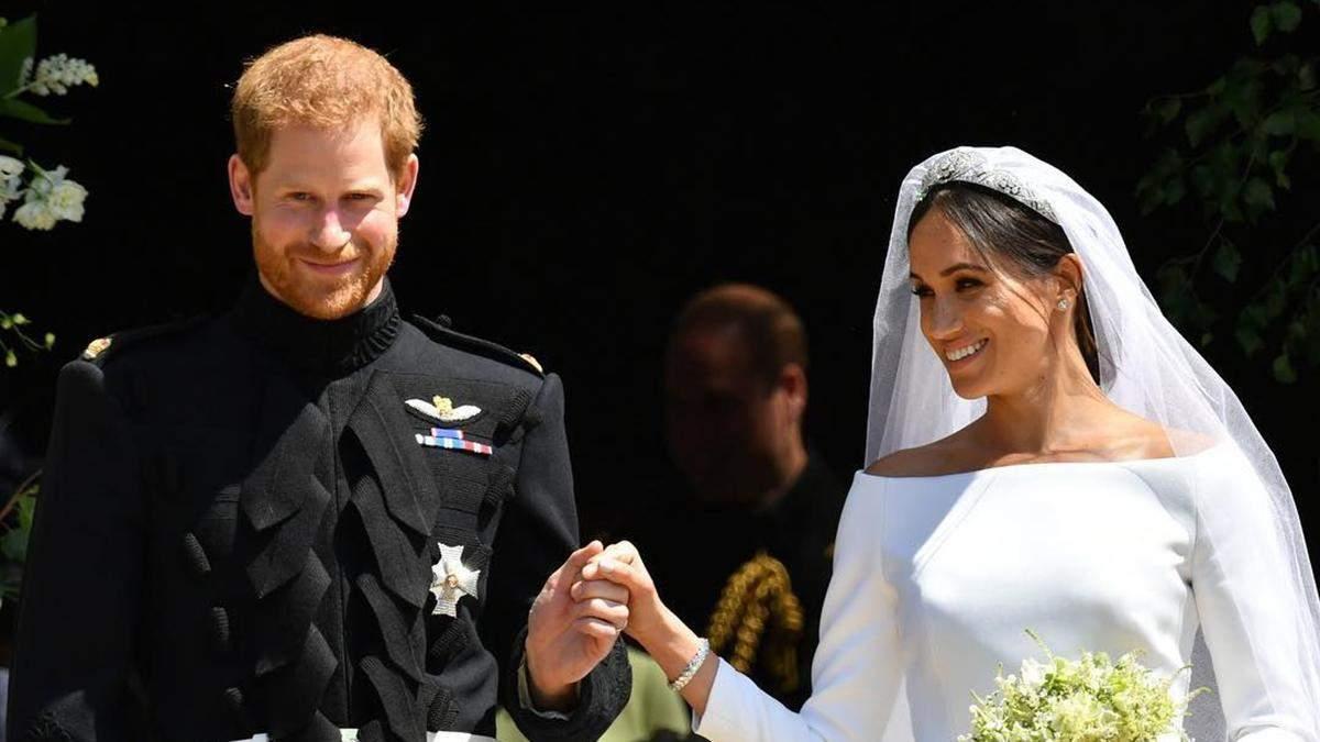 Меган Маркл збрехала про таємне весілля: з'явилося свідоцтво про шлюб