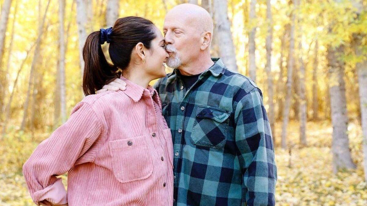 Дружина Брюса Вілліса привітала актора з 12 річницею шлюбу: фото