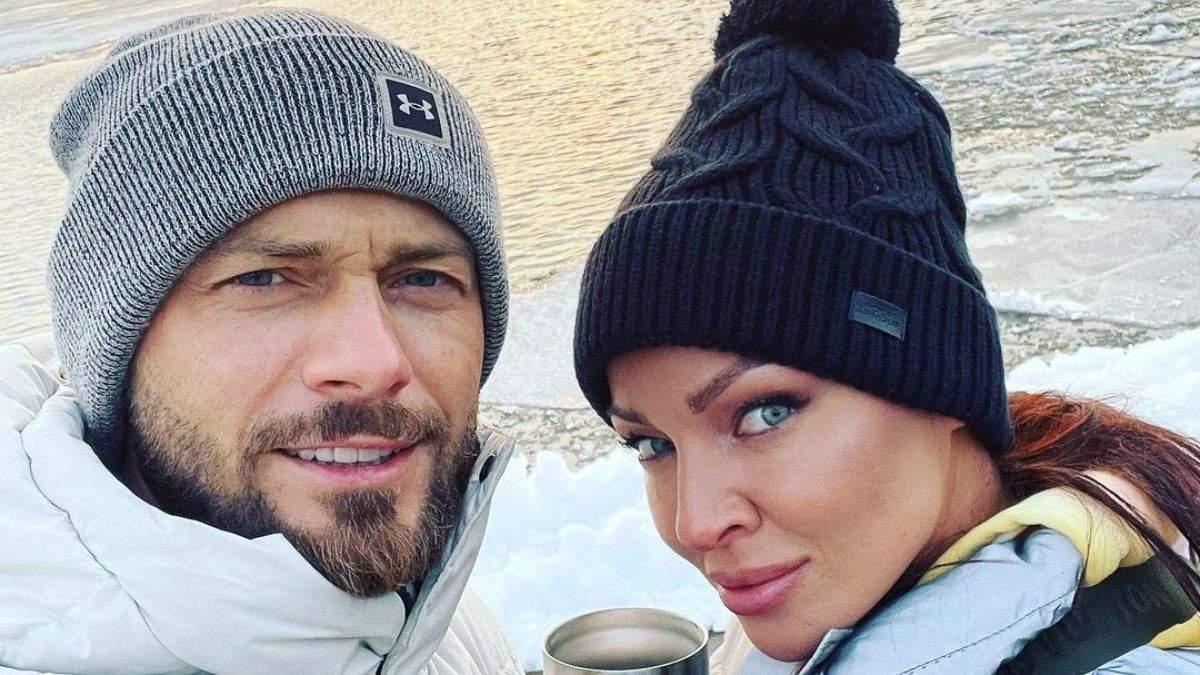 Влад Яма вернулся из Майами и прогулялся Киевом: фото с женой