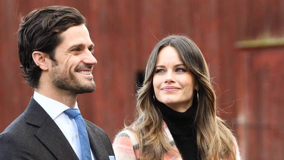 Принц Швеції Карл Філіп і принцеса Софія втретє стали батьками