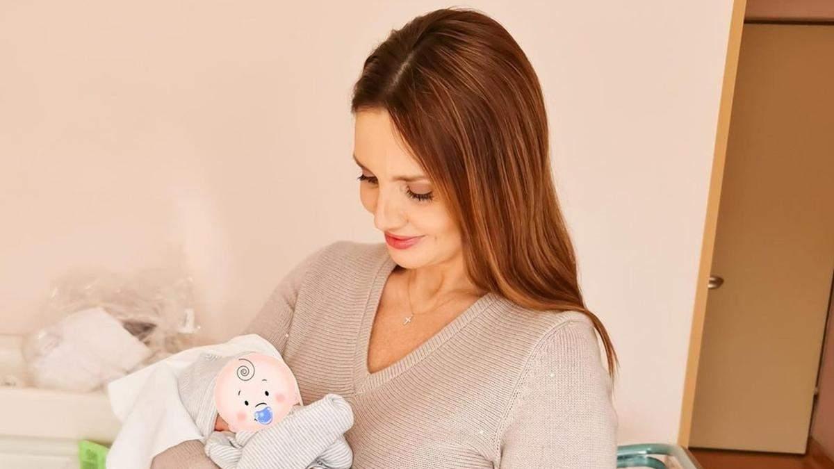 Оксана Марченко впервые стала бабушкой: как назвали малыша