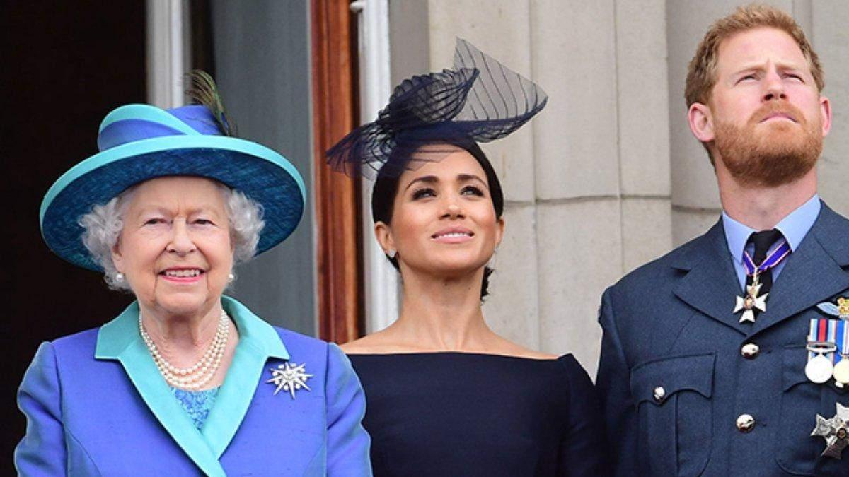 Елизавета II отвергла Гарри и Меган Маркл об изменениях в дворце