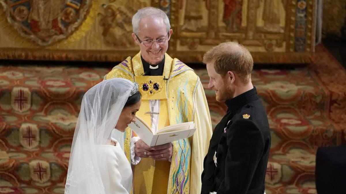 Архієпископ спростував слова Меган Маркл про таємне весілля