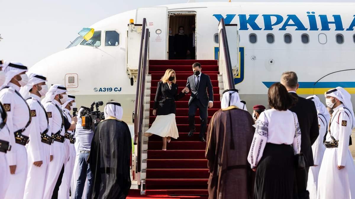 Олена Зеленська постала в елегантному жакеті для візиту в Катар: фото