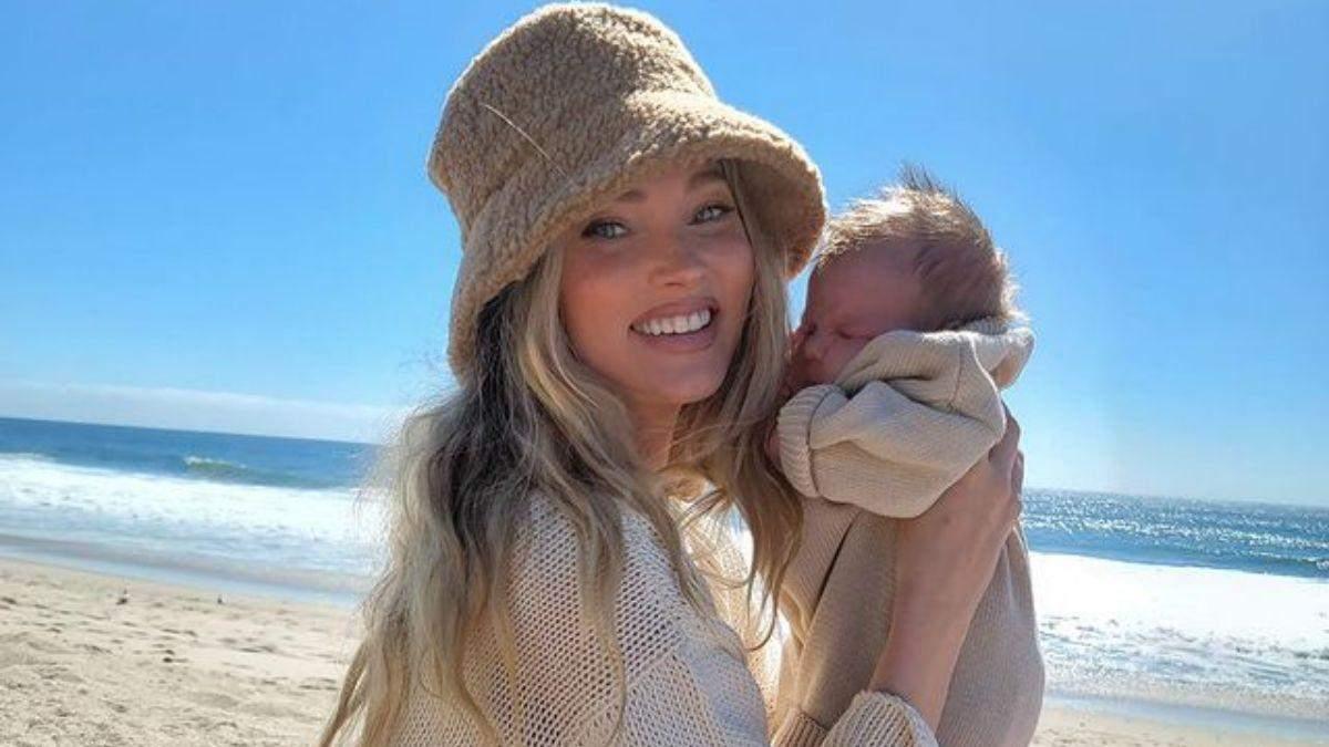 Ельза Госк показала маленьку доньку: відео