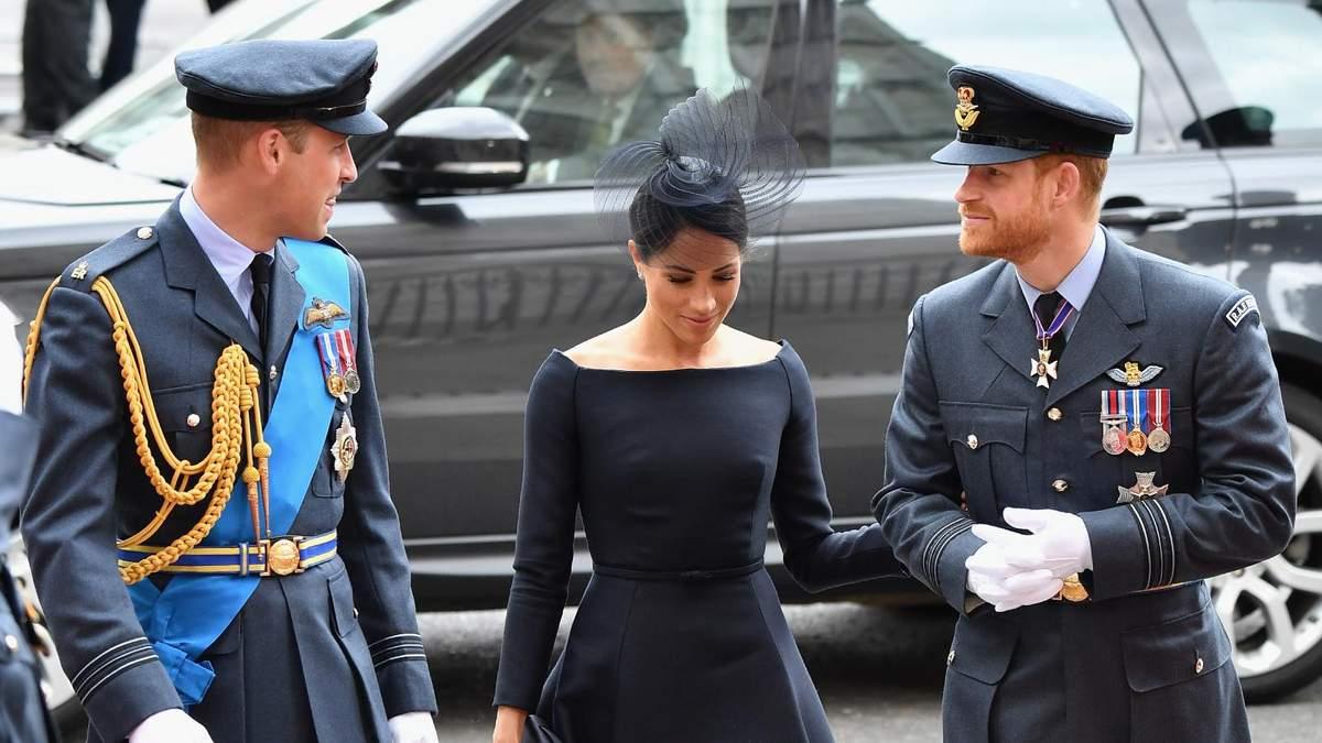 Принц Гарри и Уильям воссоединились ради статуи принцессы Дианы
