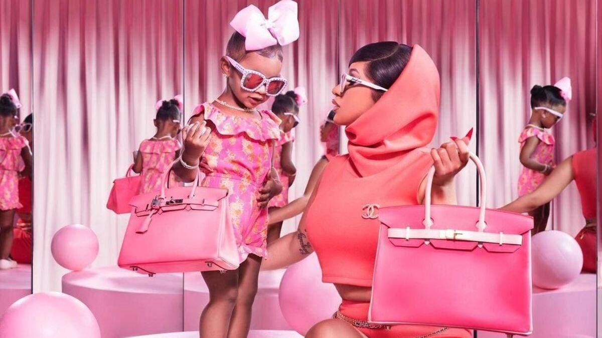 Cardi B показала колекцію сумок 2-річної доньки: реакція мережі